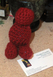 crochet doll torso/legs