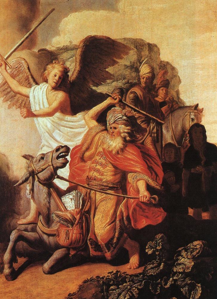Balaam's Ass - Rembrandt